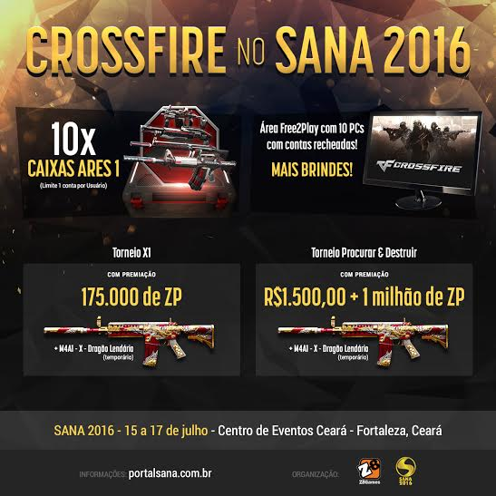 Crossfire Sana 2016