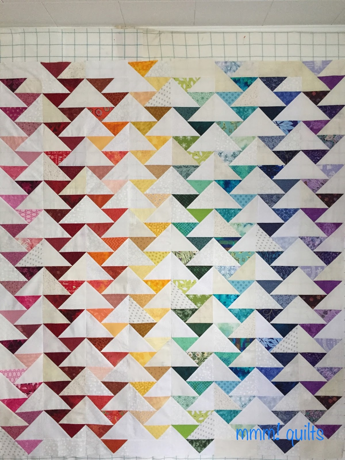 Musings of a Menopausal Melon - mmm! quilts: Migrating Geese Flimsy : migrating geese quilt pattern - Adamdwight.com