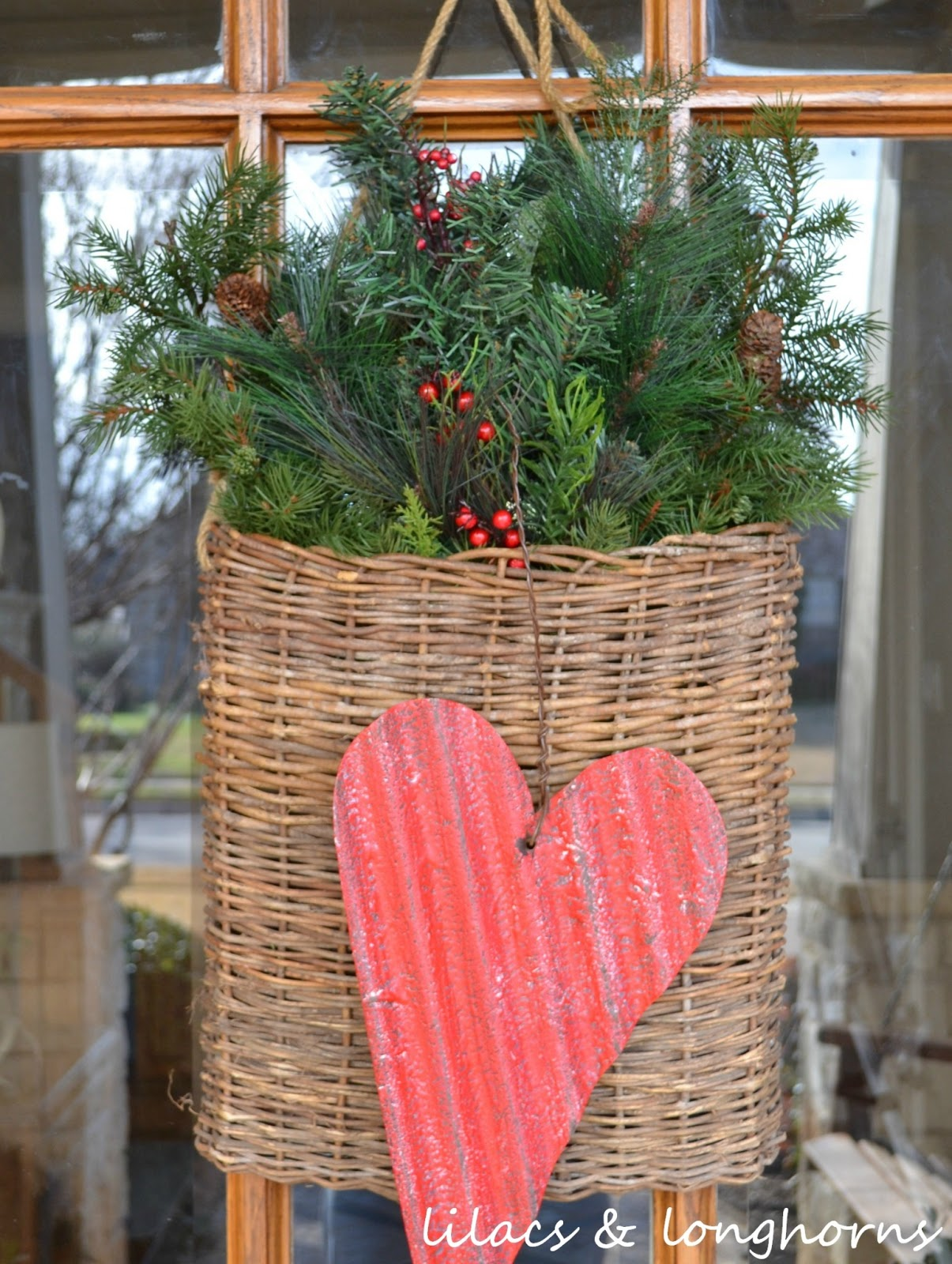 A Little Valentine's Day Door Decor - Lilacs and ...
