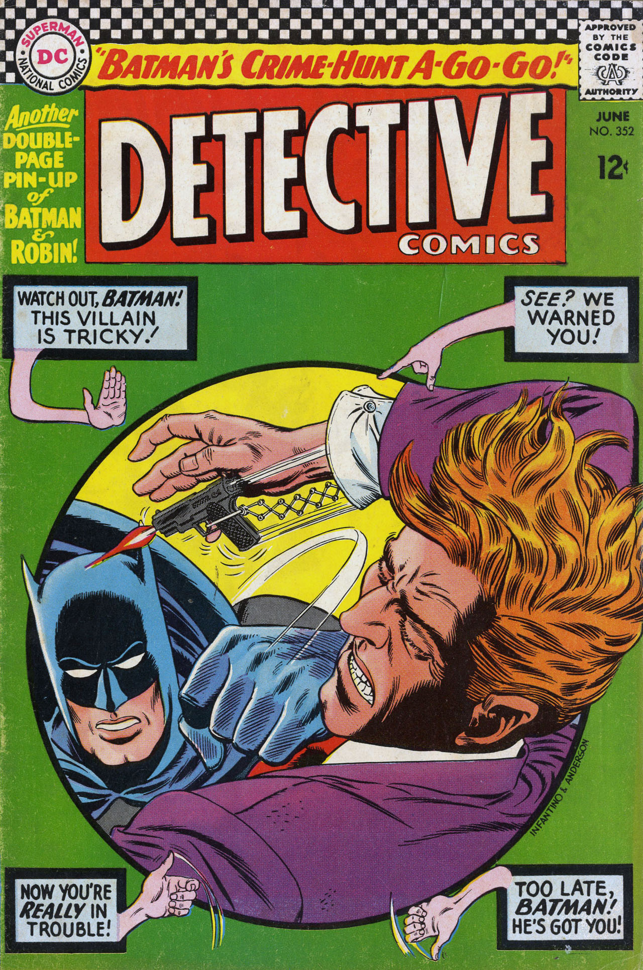 Detective Comics (1937) 352 Page 0