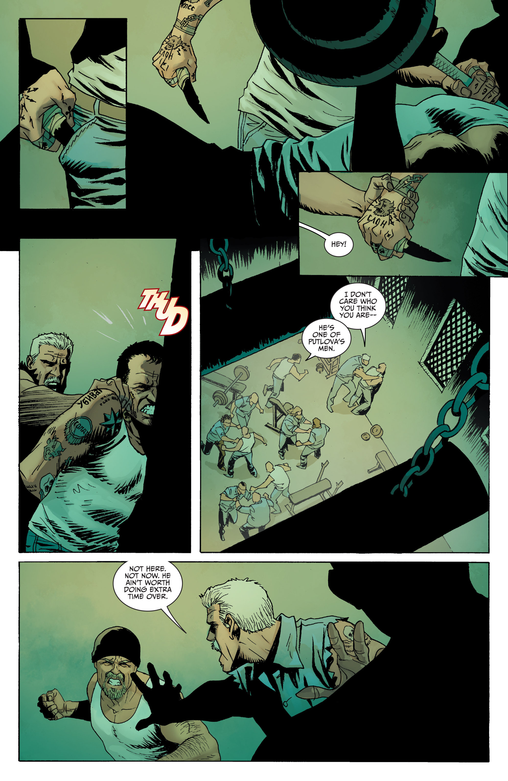 Read online Sons of Anarchy comic -  Issue #8 - 10
