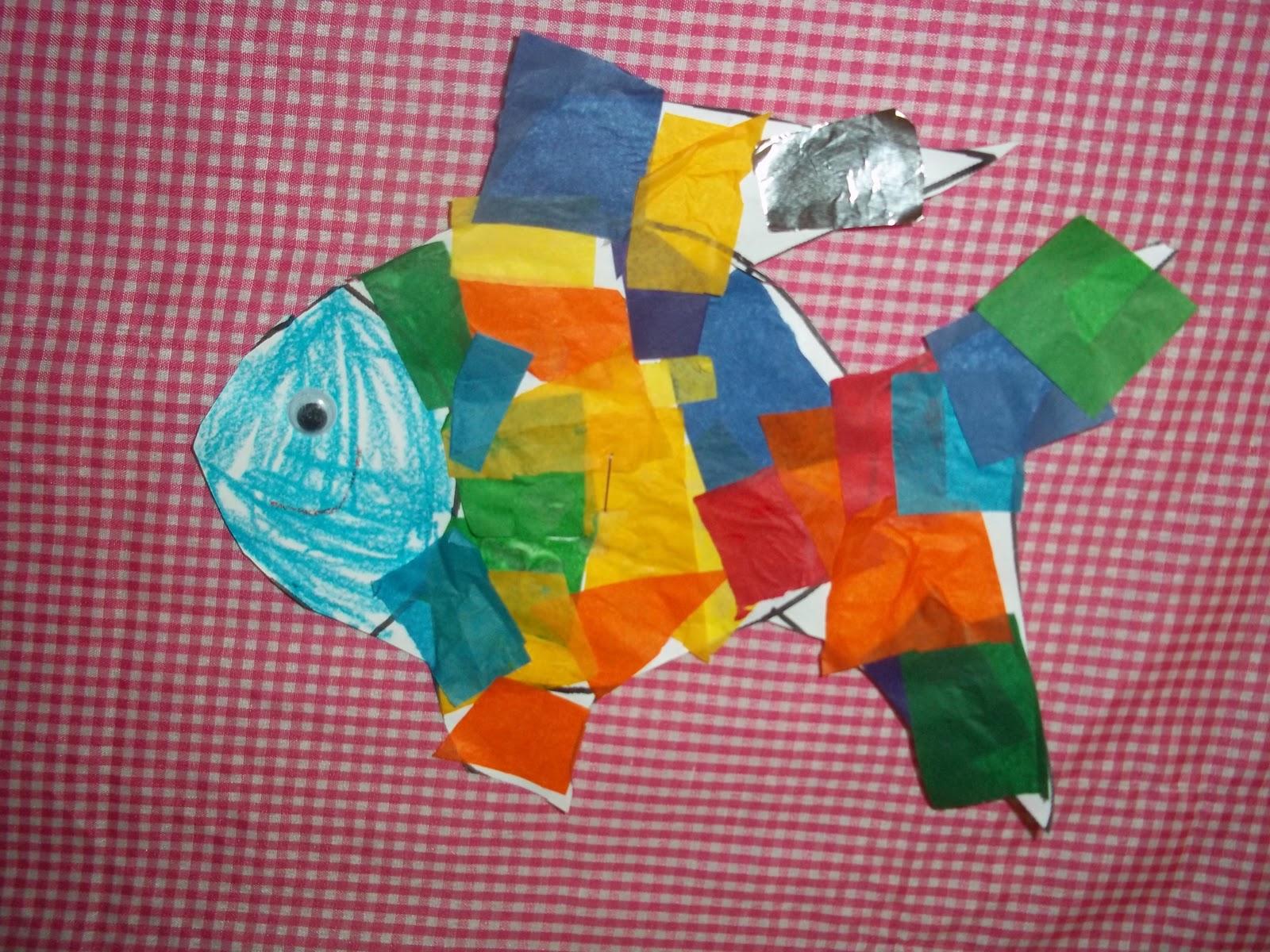 Mrs Wood S Kindergarten Class Rainbow Fish