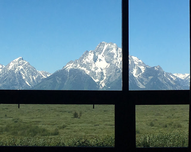 View from Jackson Lake Visitors' Center