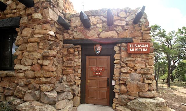Museu e Ruínas Tusayan no Grand Canyon em Las Vegas