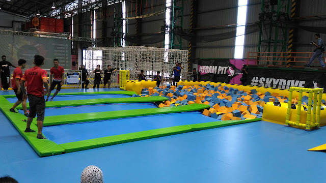 EnerZ Extreme Park, tricky cube,