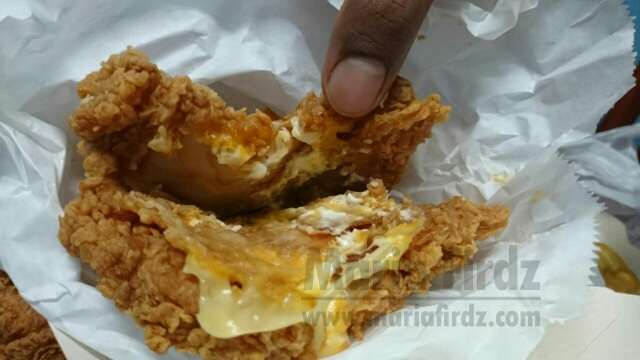 Burger Daging Ayam Tanpa Roti KFC