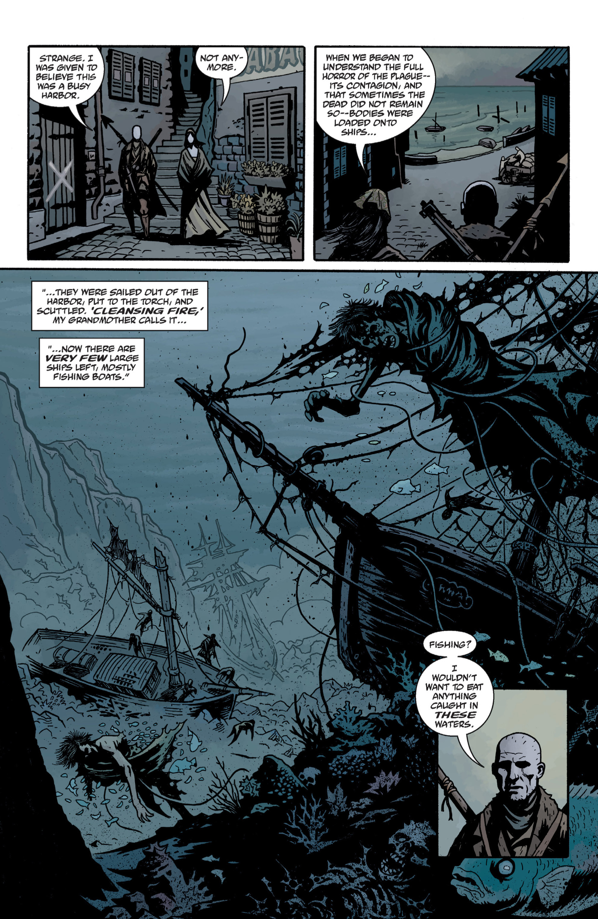 Read online Baltimore: The Plague Ships comic -  Issue # TPB - 36