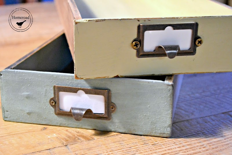 How to Repurposed Drawers