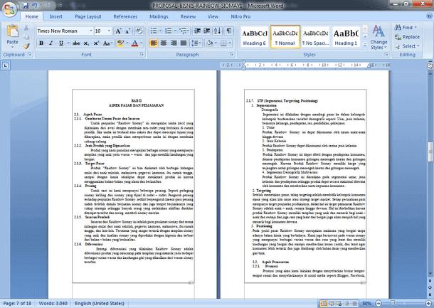 Contoh Makalah Manajemen Zakat dan Wakaf