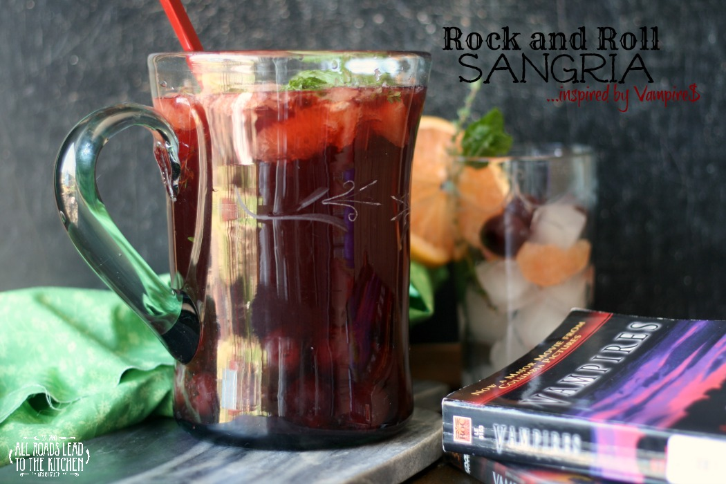 Rock and Roll Sangria inspired by Vampire$