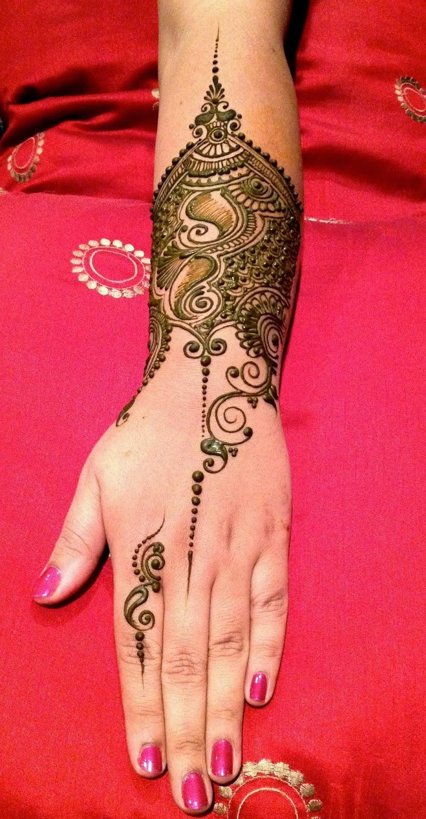 Henna Ideas: Celebrity Mehndi Designs 2014-2015