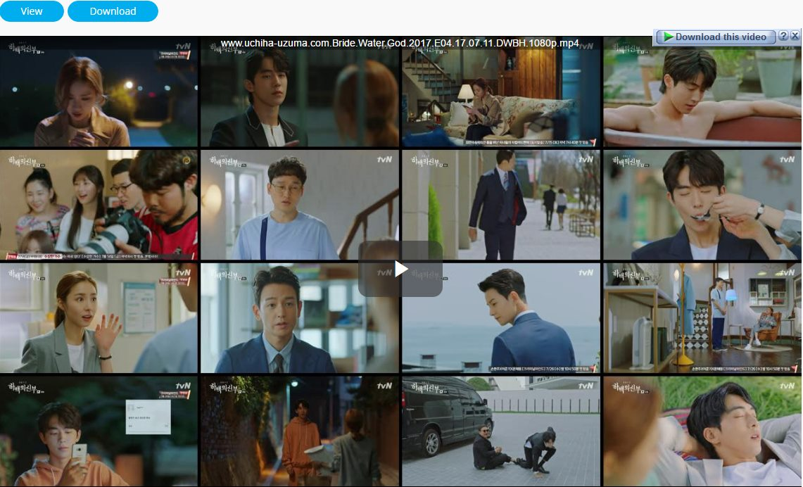 Screenshots Download Film Drama Korea Gratis Bride Of The Water God, The Bride of Habaek, 하백의 신부 (2017) Episode 04 DWBH NEXT MP4 Free