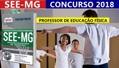 Concurso SEE-MG 2018 Professor de Educação Básica