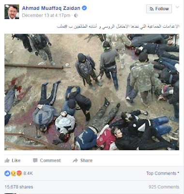 Ahmad Zaidan Original Post (Click the photo to view the post)