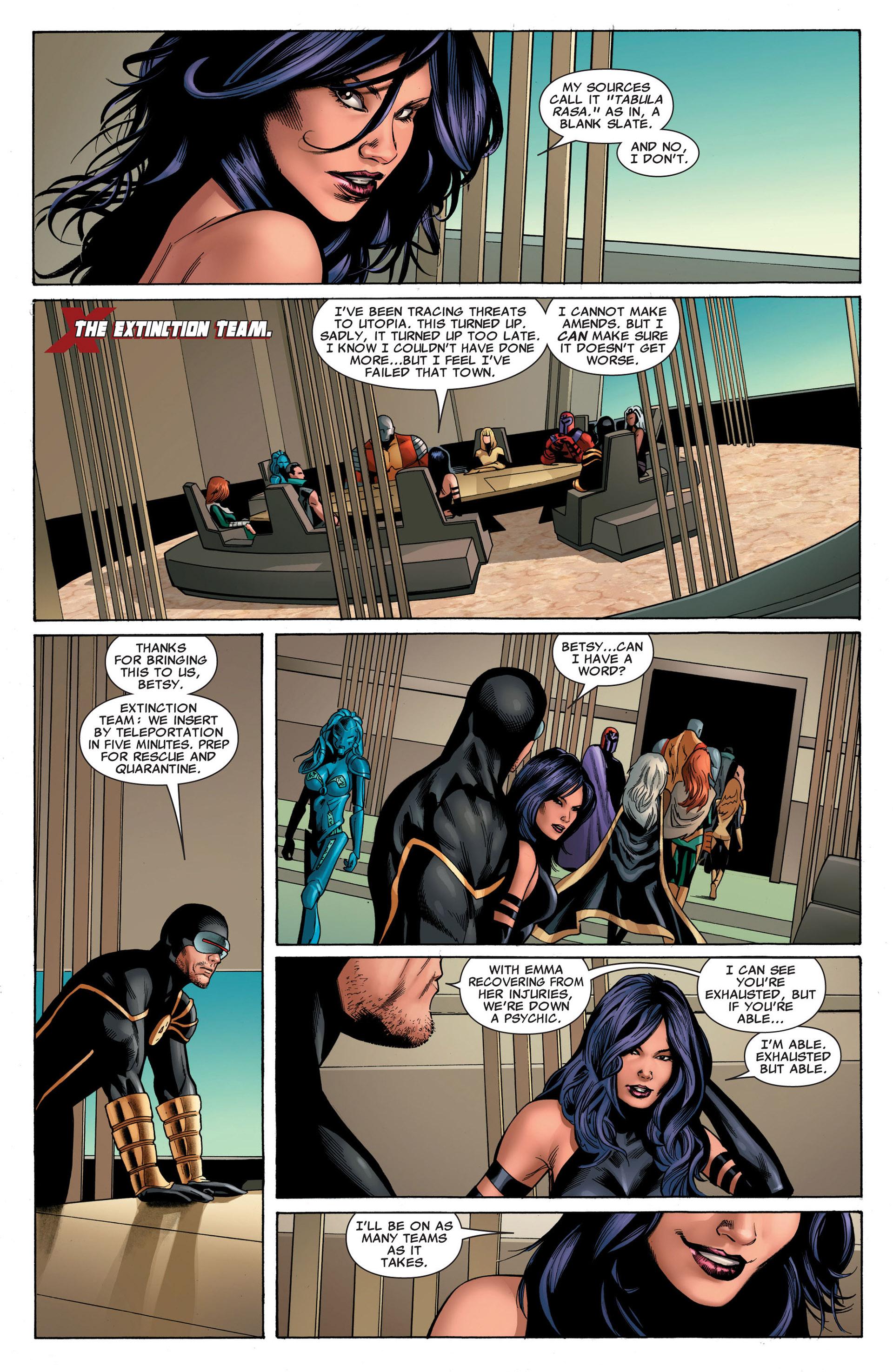 Read online Uncanny X-Men (2012) comic -  Issue #5 - 5