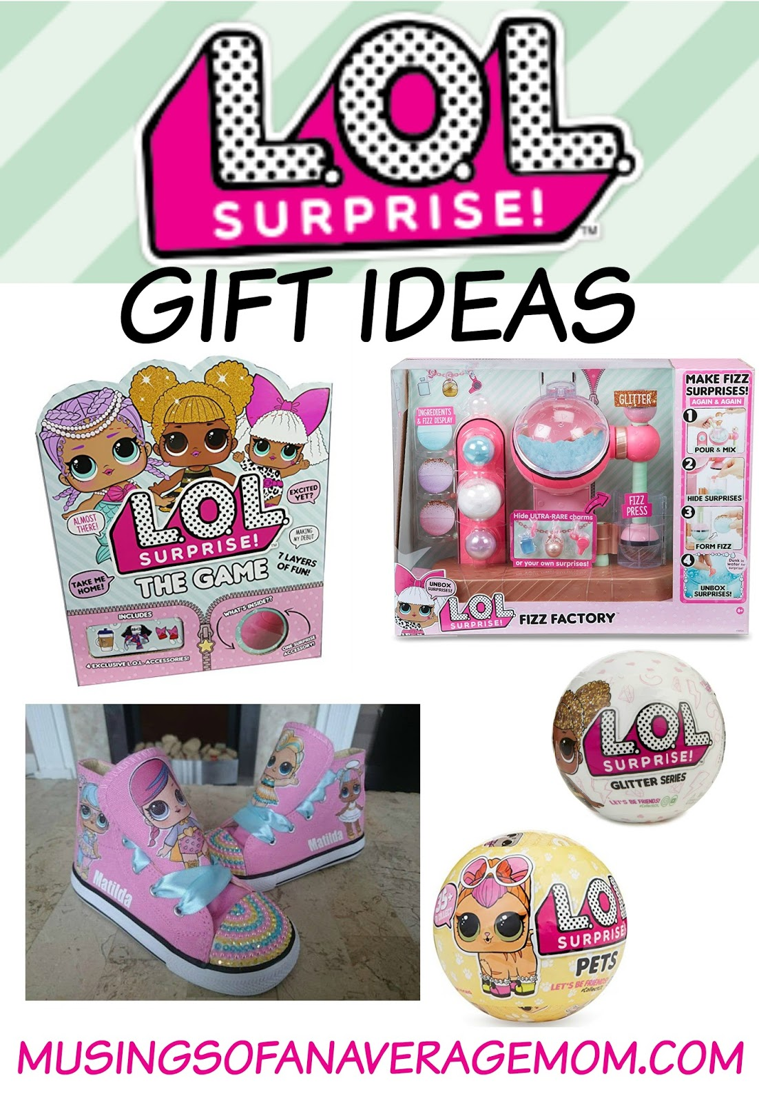 Musings of an average mom lol surprise gifts lol gift ideas negle Images