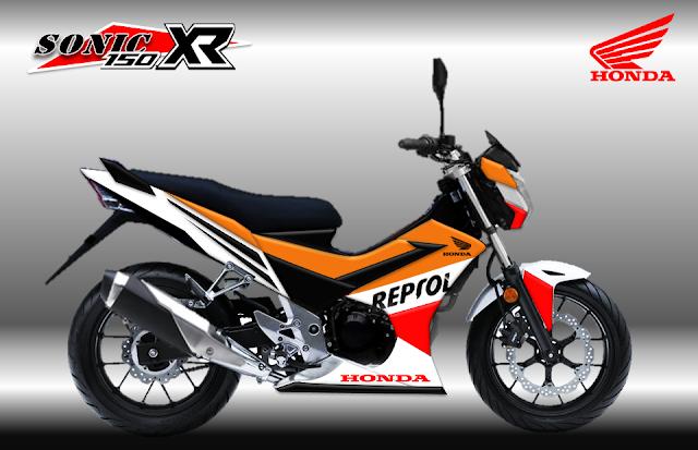 Kumpulan Spesifikasi Motor Honda Sonic 150r dan Harganya