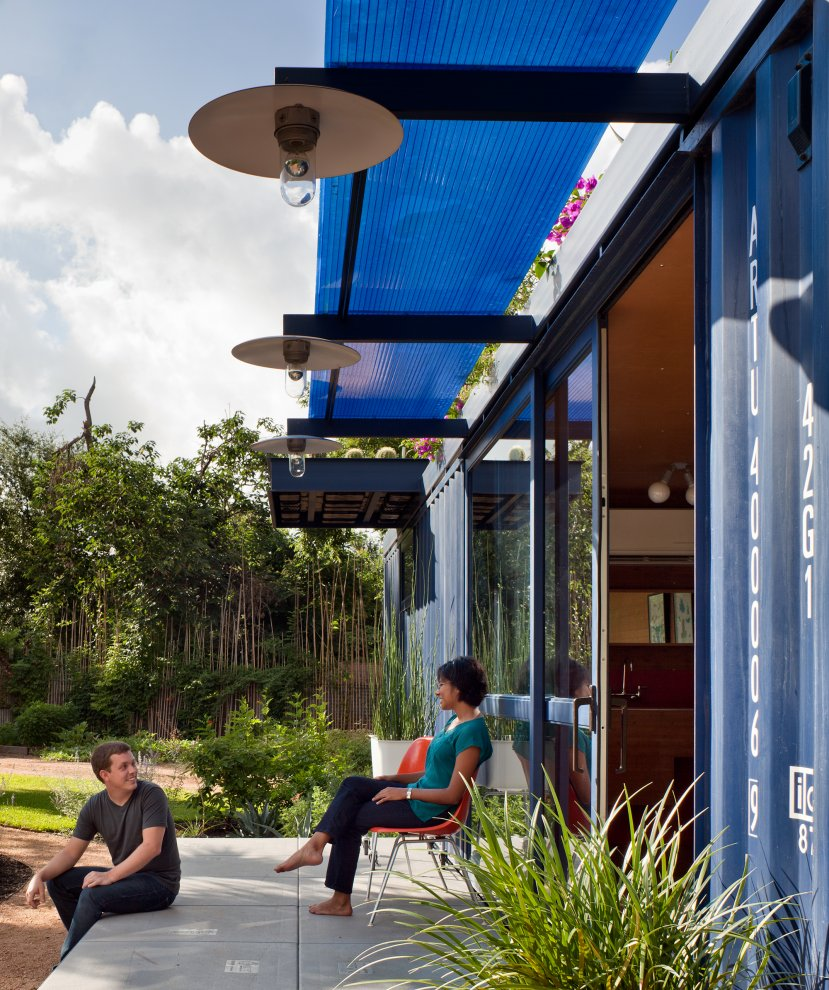 Best Shipping Container Homes: Best Prefab Modular Shipping Container Homes: Green Roof