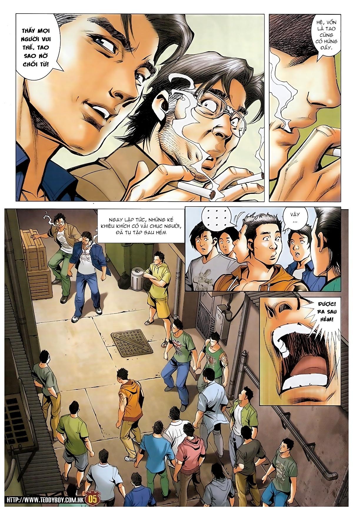 Người Trong Giang Hồ - Chapter 1548: Cha con ra trận - Pic 4