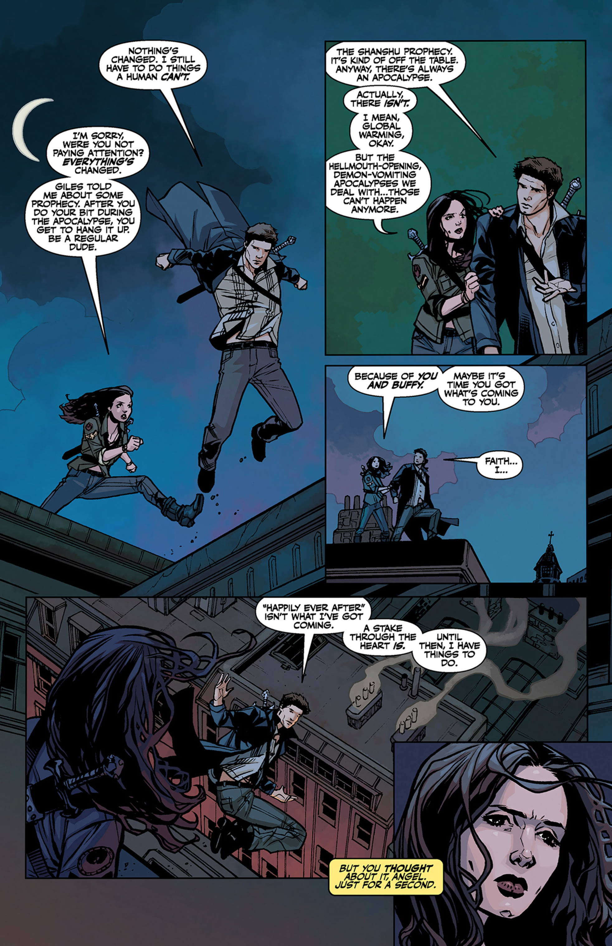 Read online Angel and Faith comic -  Issue #3 - 8