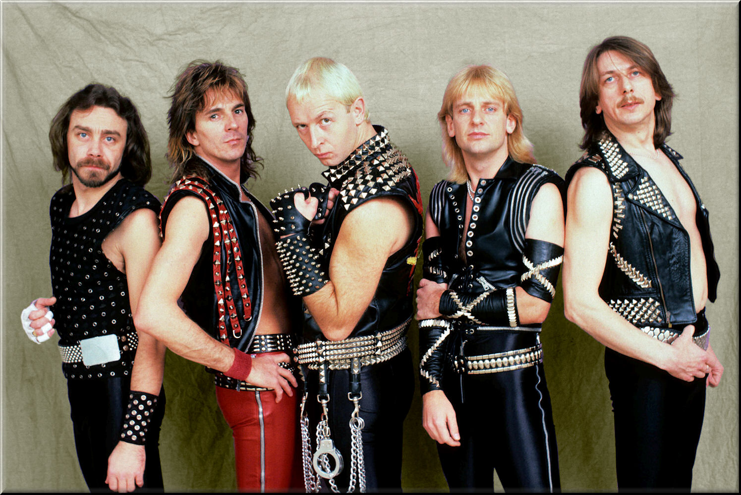 Los GRUPOS del HEAVY METAL 80/85.   JudasPriestbritish