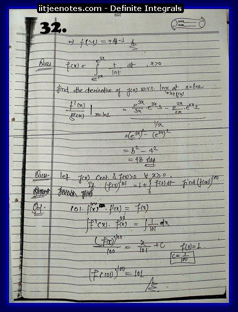 definite integrals class 12-1