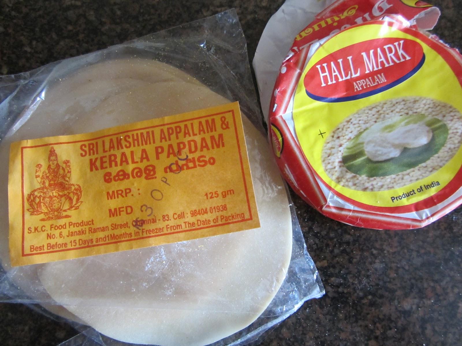 الخبز الهندي المقرمش باباد