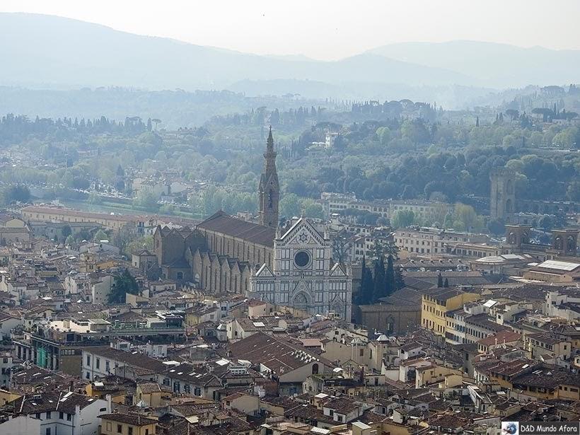 Vista da Cúpula da Catedral de Santa Maria del Fiore - O que fazer em Florença, Itália - 40 atrativos