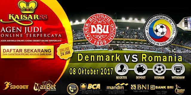 Prediksi bola terpercaya World Cup Denmark vs Romania 8 Oktober 2017
