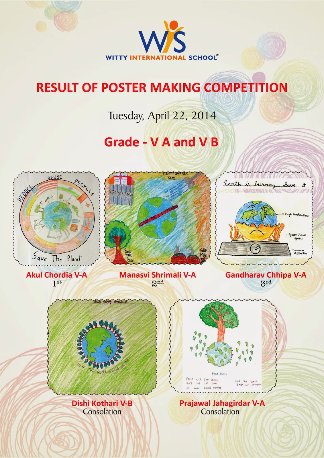 On the top of the World   : Poster Making Competition and