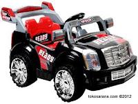 Mobil Mainan Aki Elite 2288 Top Racer Jeep