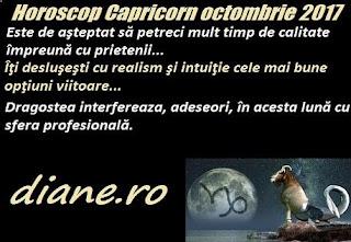 Horoscop octombrie 2017 Capricorn