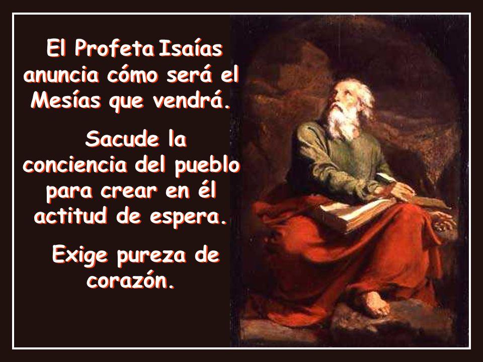 Puntadas de Adviento: Profeta Isaías, testigo del Adviento