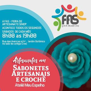 Ateliê Meu Espelho- Feira FAS -Feira Artesanato Sinop