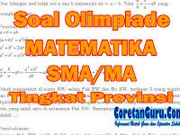 (PDF) Soal Olimpiade Matematika SMA/MA Tingkat Provinsi dan Pembahasan Tahun 2018