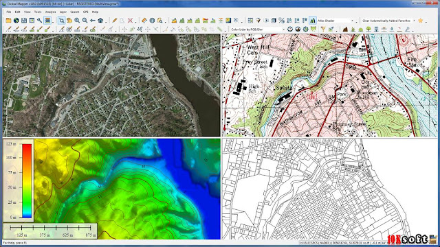 Global Mapper 18 latest version Free Download