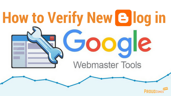 Verify blog in Webmaster tools