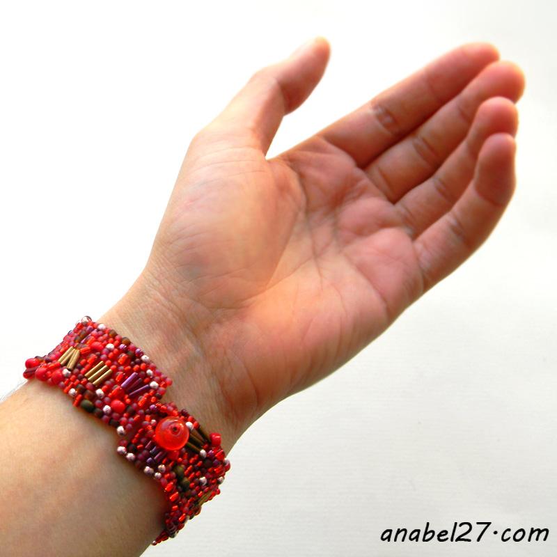 купить браслет из бисера анабель anabel freeform