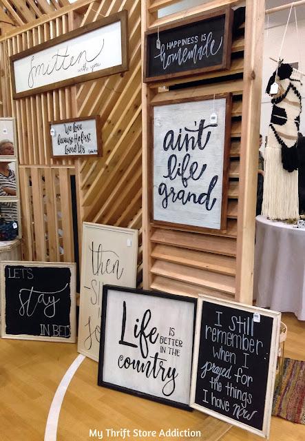 Shop local handmade farmhouse signs