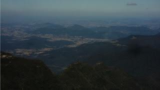 Vista do Alto do Cânion do Monte Negro, em São José dos Ausentes