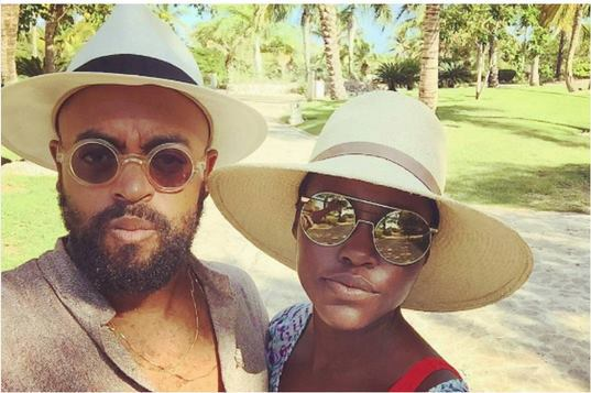 Photos: Did Lupita already introduce boyfriend, Mobolaji Dawodu to her family?