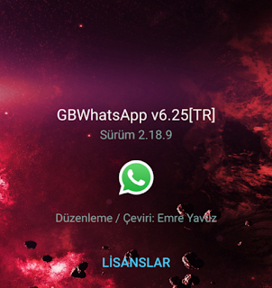 Free Download GBWhatsApp TR Edition Latest Version 2018