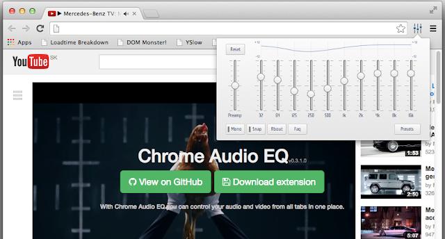 migliorare audio youtube