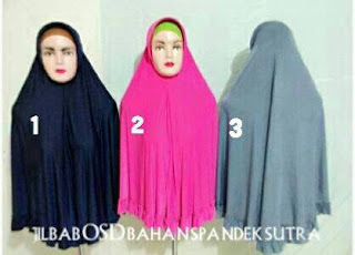 jilbab oki setiana dewi bahan spandek sutra