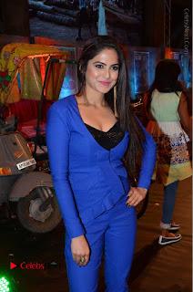 Actress Naina Ganguly Stills in Blue Dress at RGV Shiva to Vangaveeti Event  0020.JPG