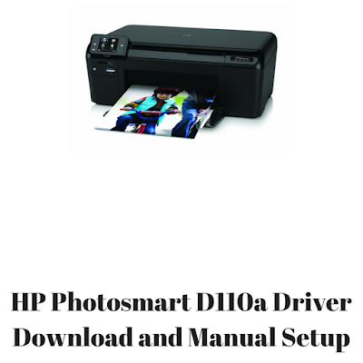 HP Photosmart D110a Driver Download and Manual Setup