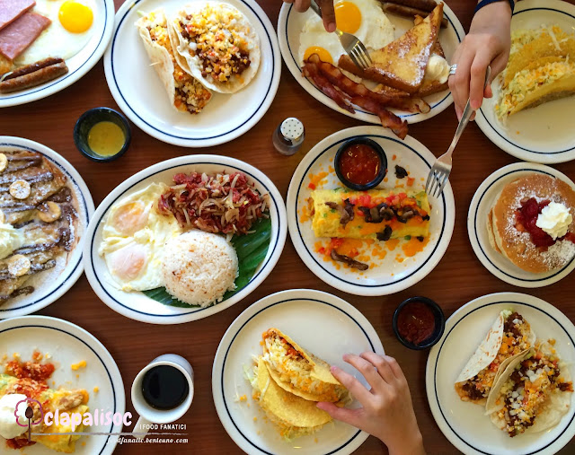 IHOP Philippines menu items