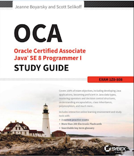 best OCAJP8 book for Java certification