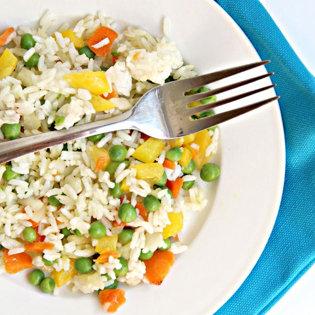 Easy Vegetable Rice Recipe This Is An Side Dish Or Main Meal If You