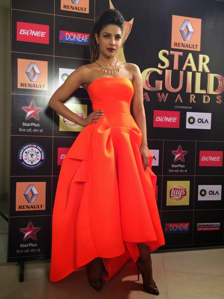 Priyanka Chopra at the Star Guild Awards 2015